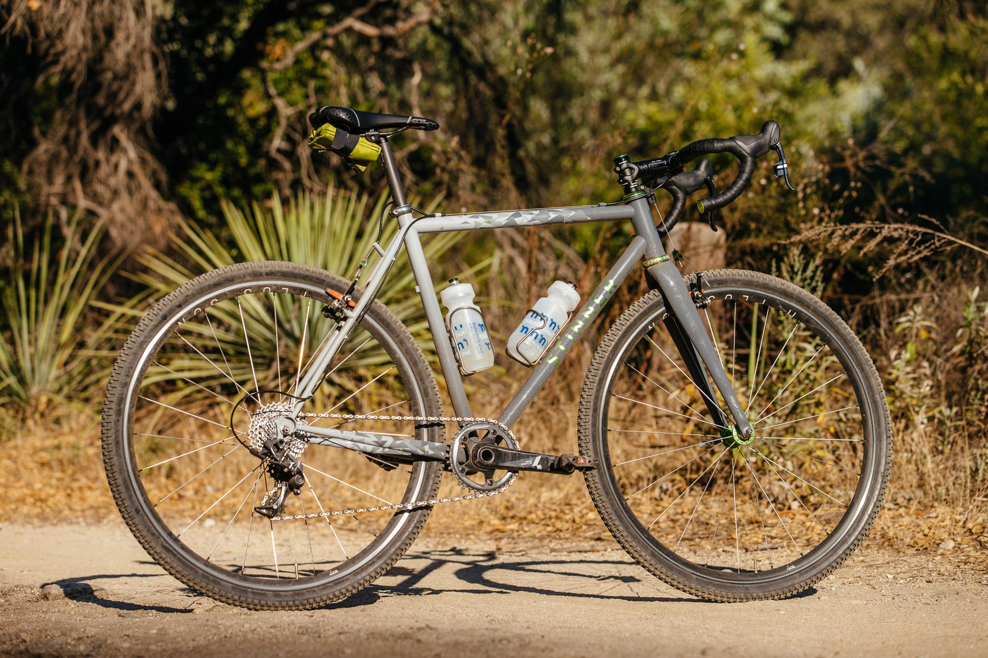 Kelli's Stinner 'Cross Bike with Airglow Paint
