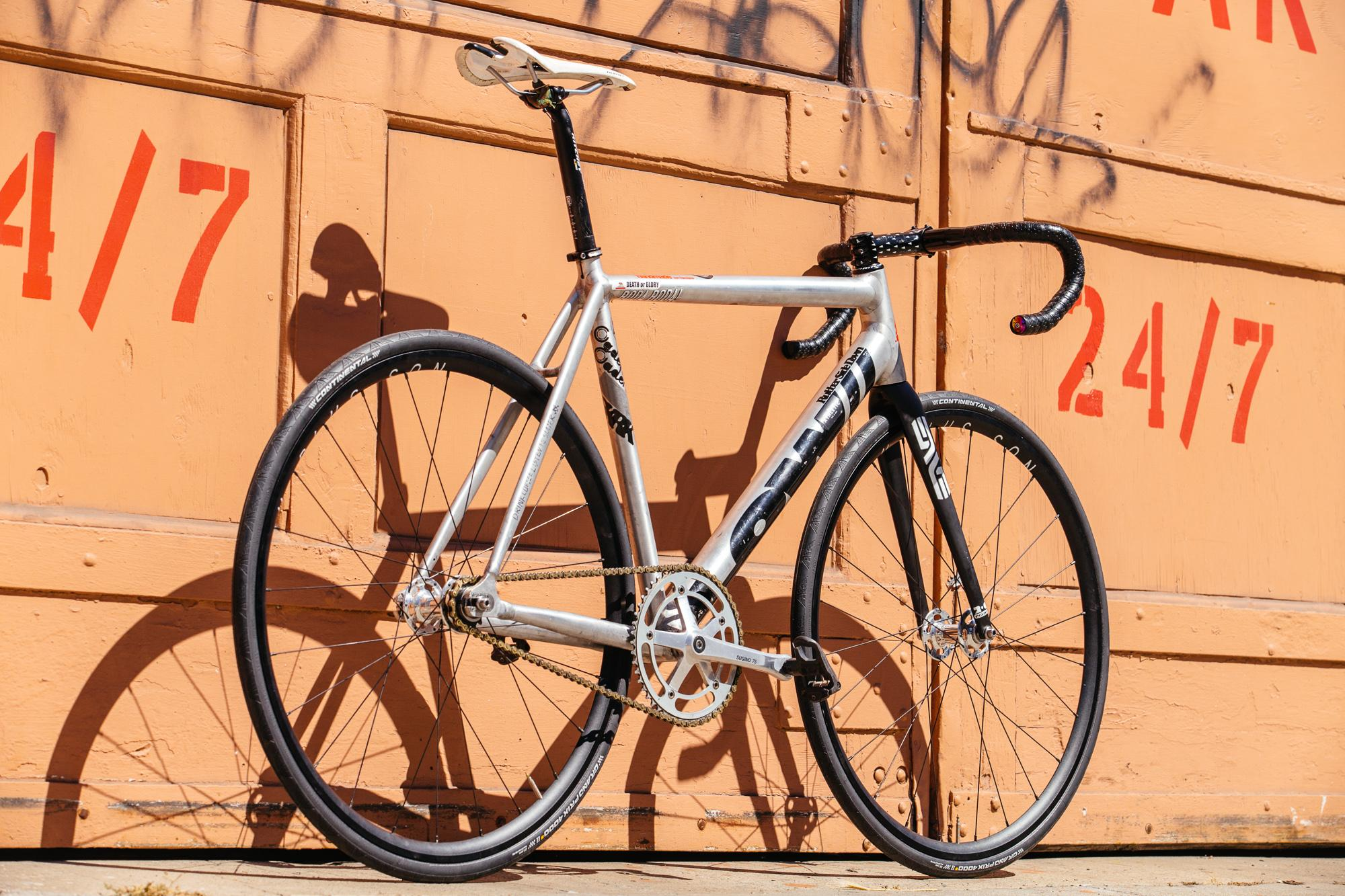 Marc's LOW Track Crit Bike