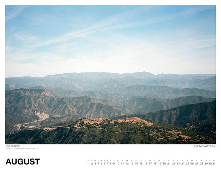 The Radavist 2015 Calendar: August