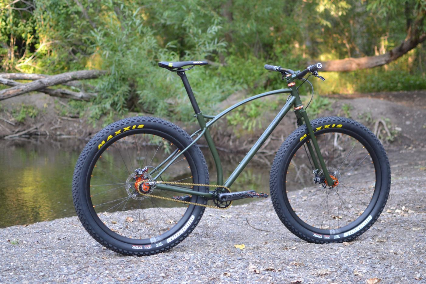 Sklar Bikes: Scott's Custom 29+ Singlespeed MTB