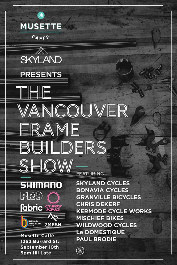 The Vancouver Frame Builders Show