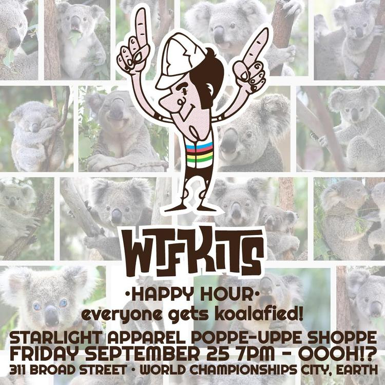 WTF Kits Worlds Happy Hour Tonight!