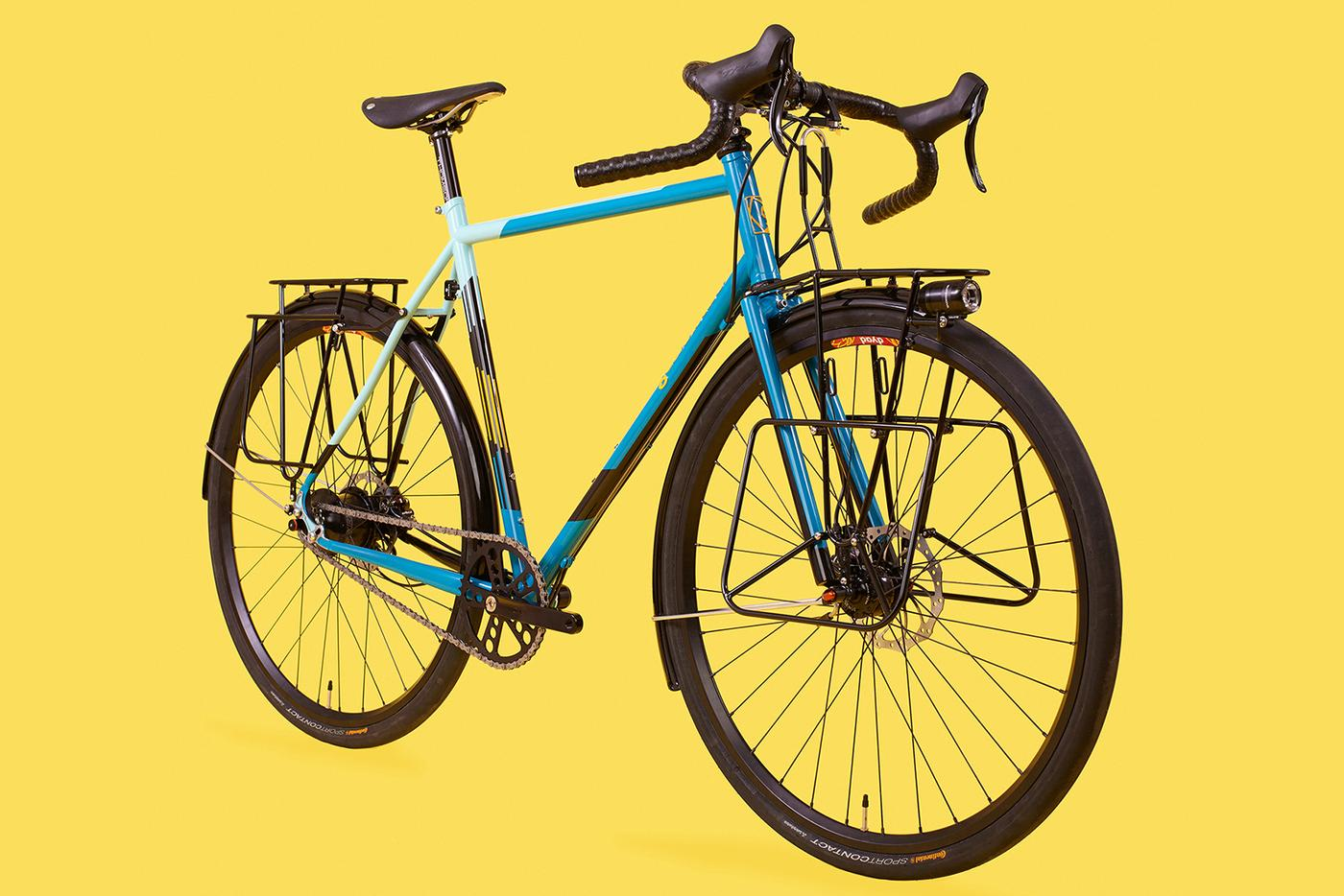 Geekhouse Bikes: Deb's Woodville Rohloff Tourer
