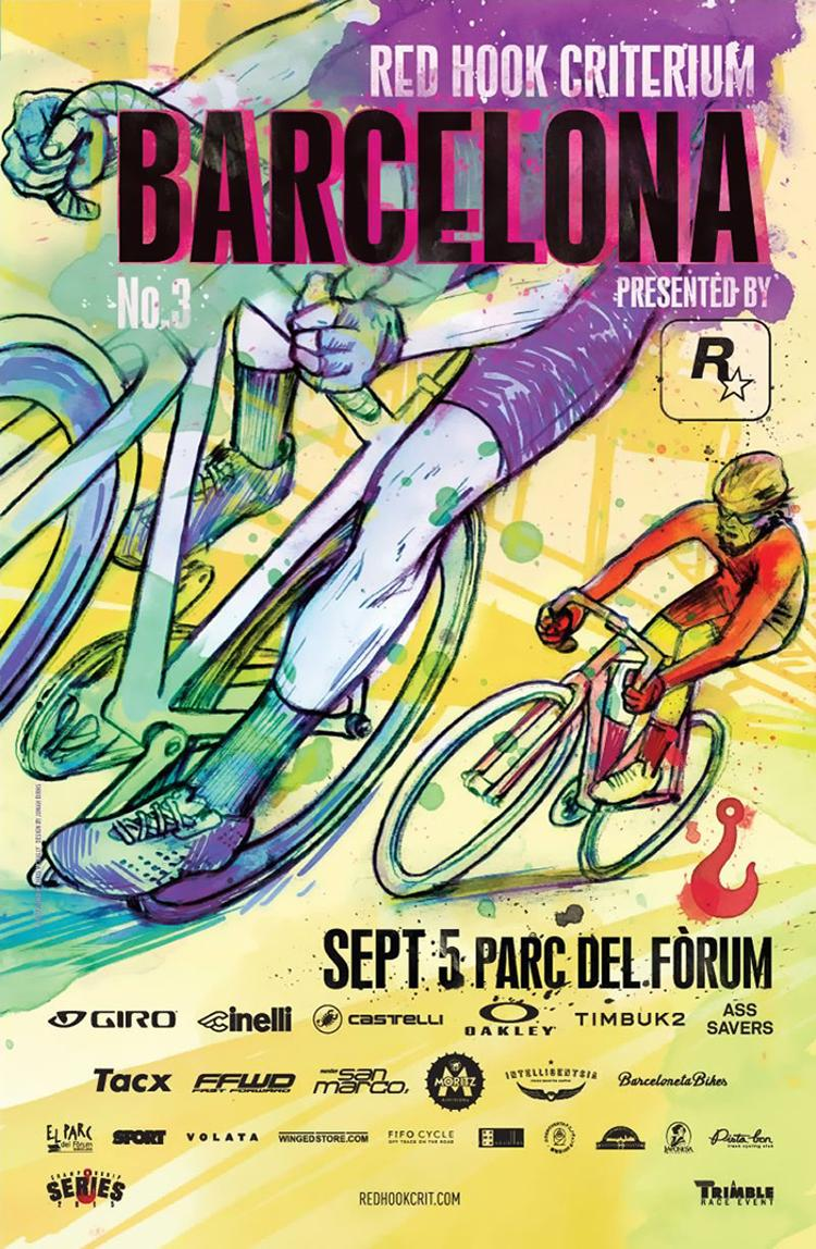 The Red Hook Crit Barcelona 2015 Poster