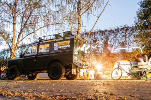 Adrian Marcoux's Land Rover