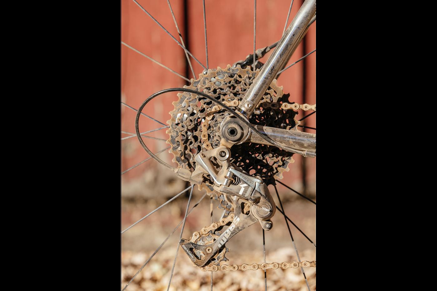 My Rusty Rat Rod  Titanium Firefly Disc All Road-4