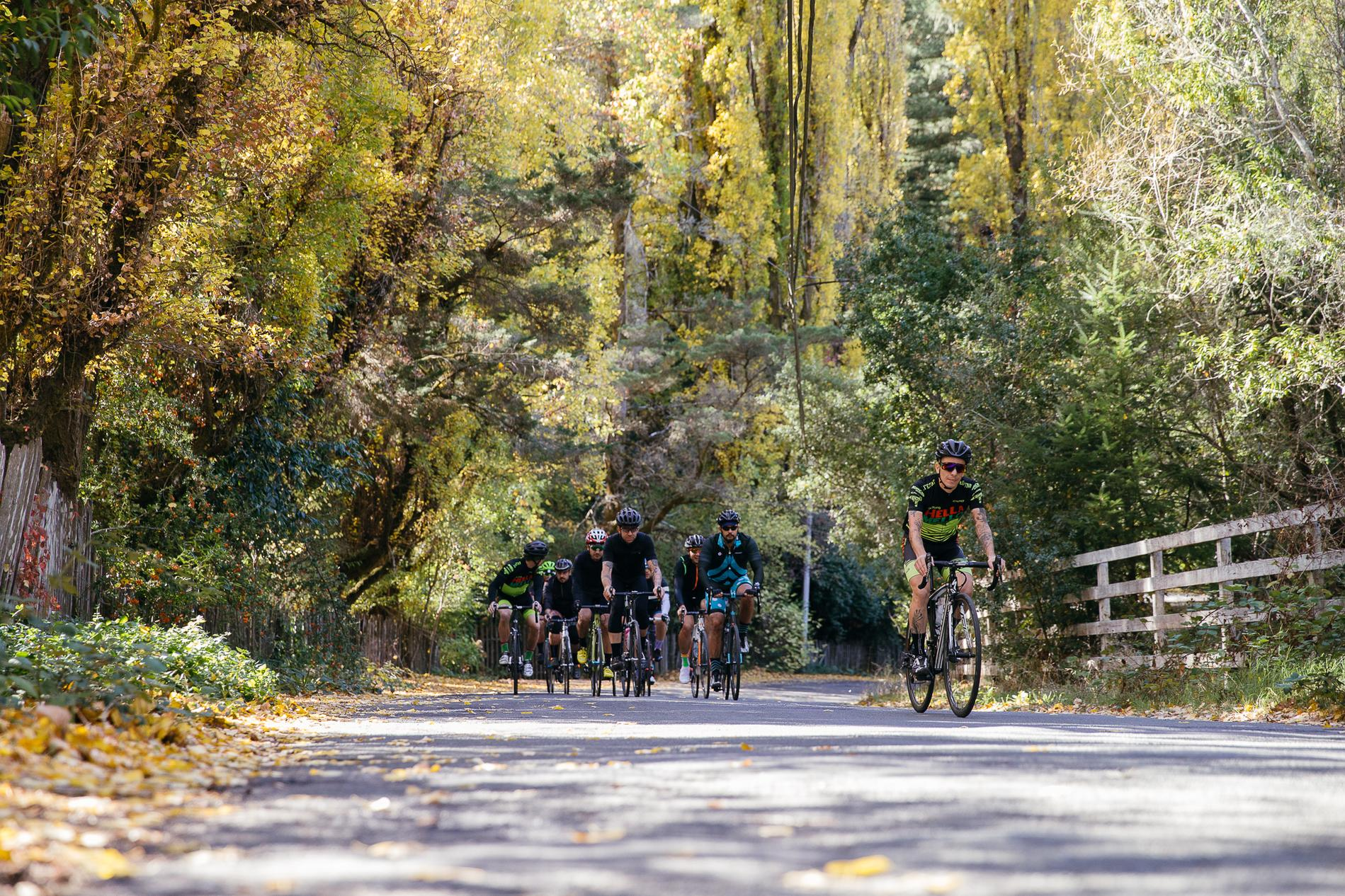 Riding in Guerneville California with Argonaut Cycles and Chris King