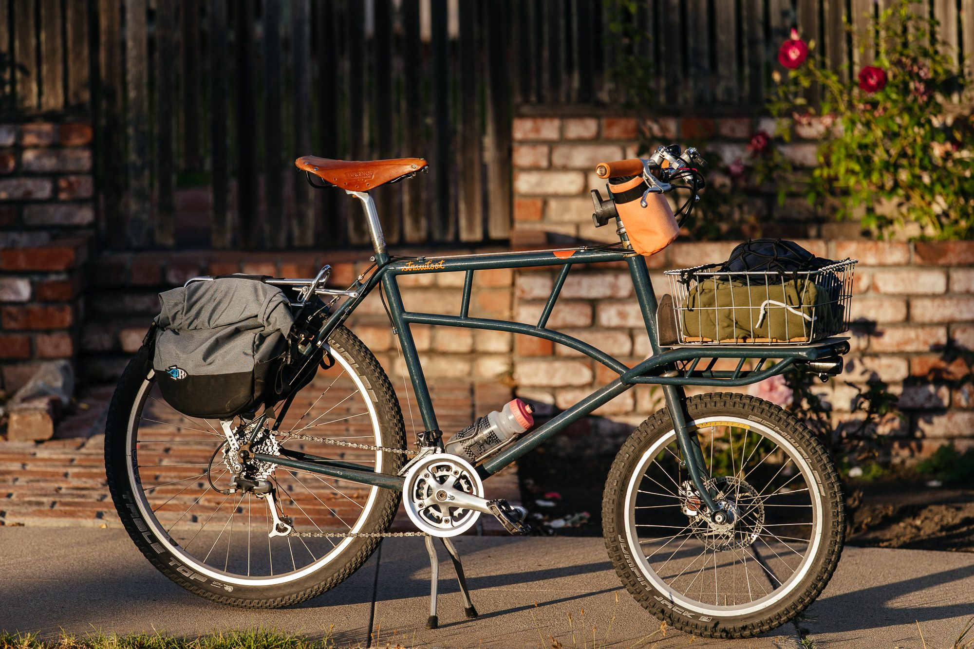 Garrett's Frances Cycles Cargo Bike