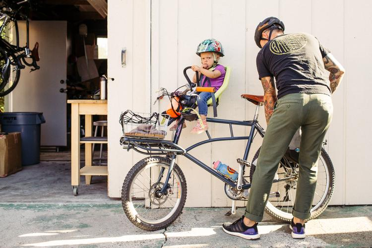 Gettin' Sconed with Garrett and Olive on their Frances Cycles Cargo Bike