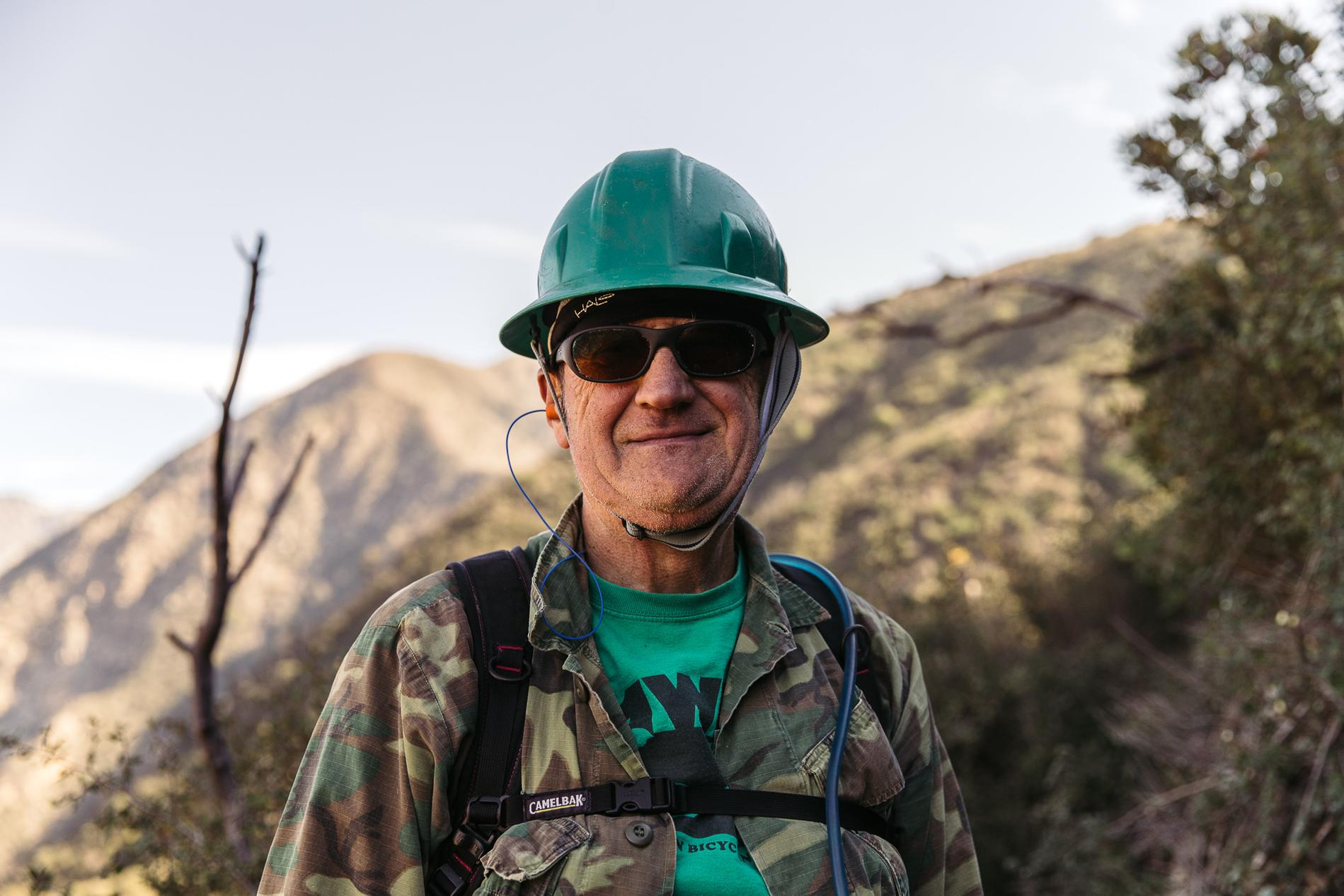 Mitch is 67 and still works on trails, what's your excuse? ;-)
