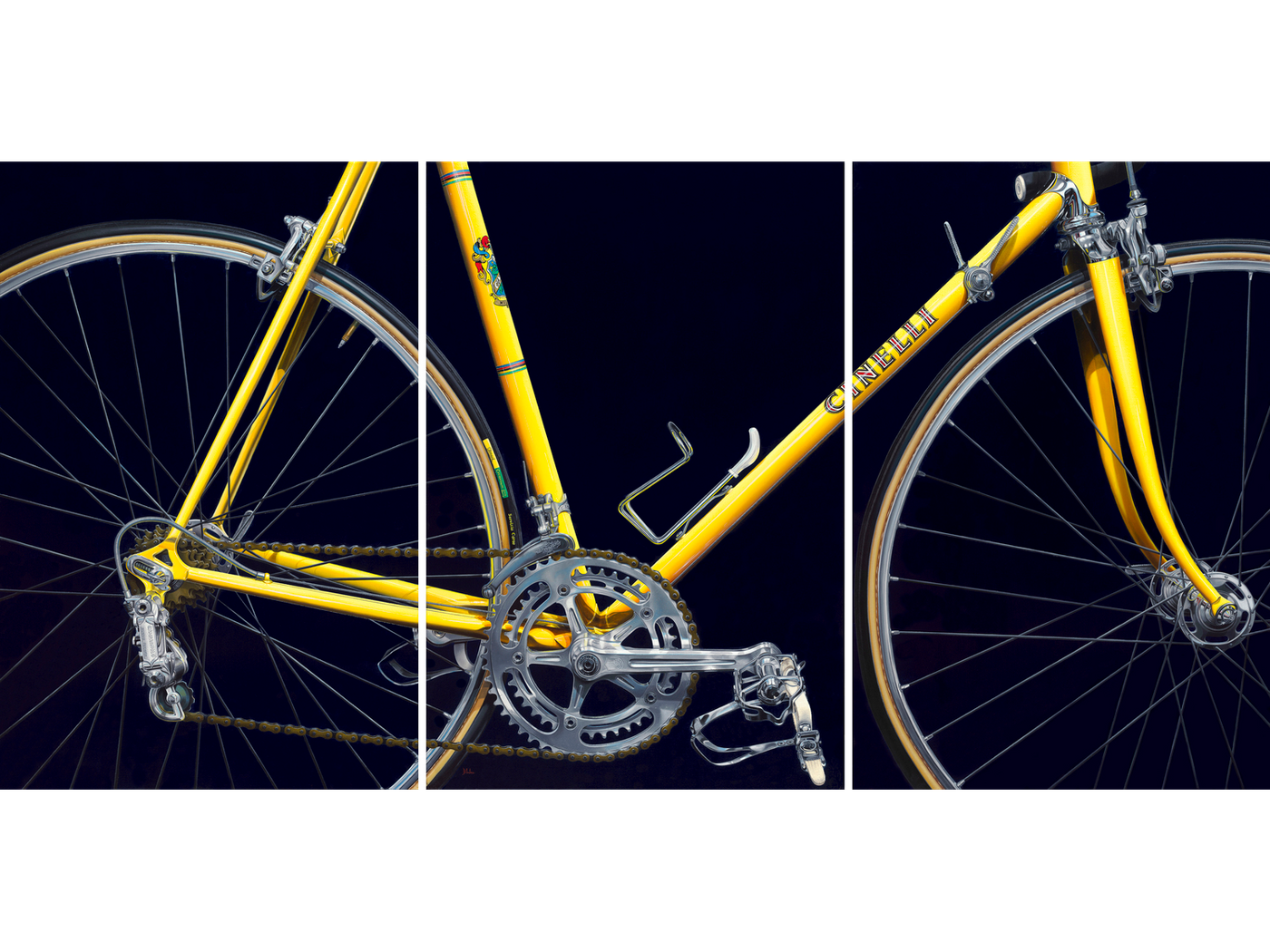 NICKALAS BLADES: Greg LeMond's Jaune Cinelli Supercorsa Prints