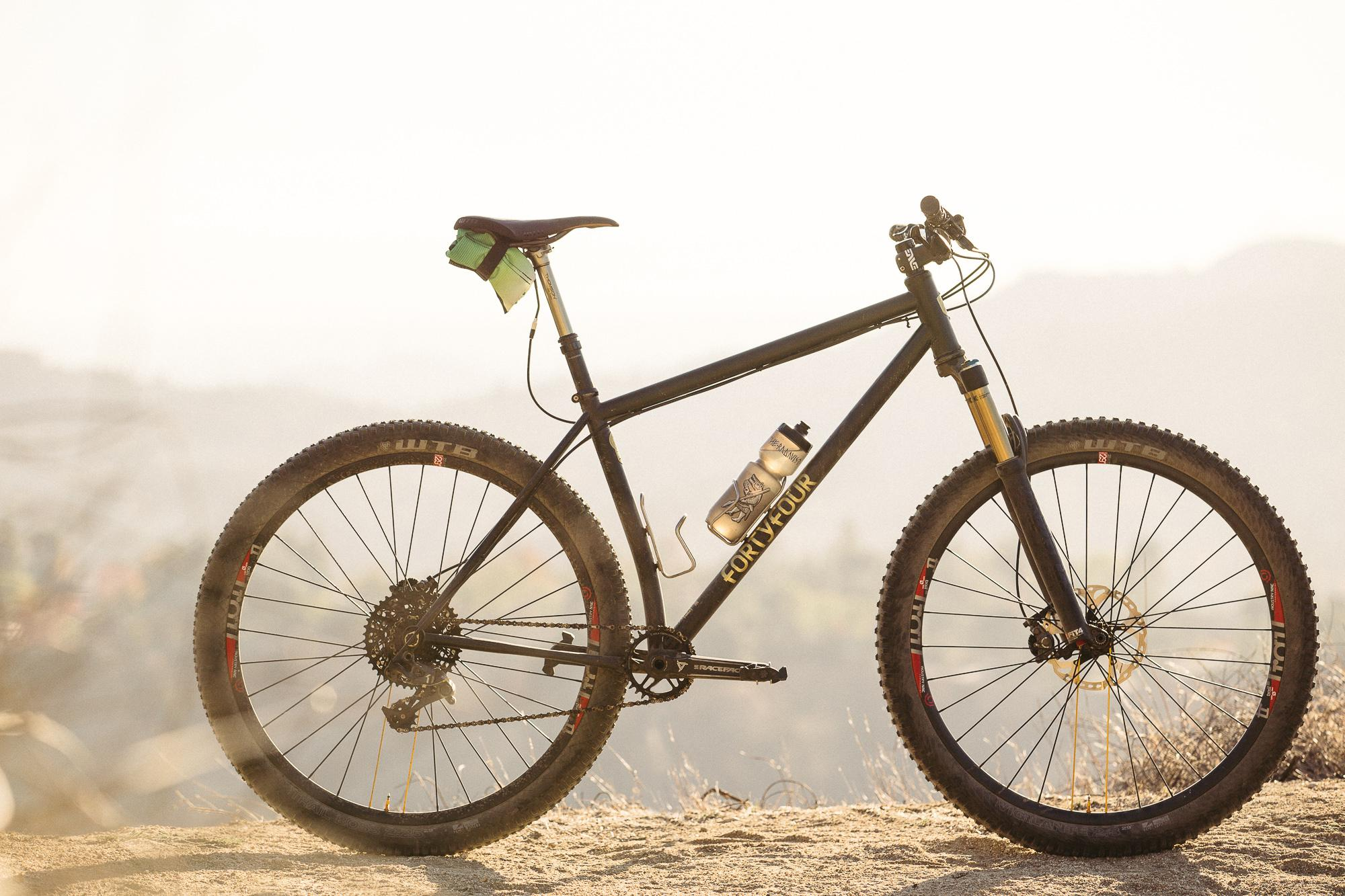 Swear to Shred the 44 Bikes Marauder Hardtail 29'r