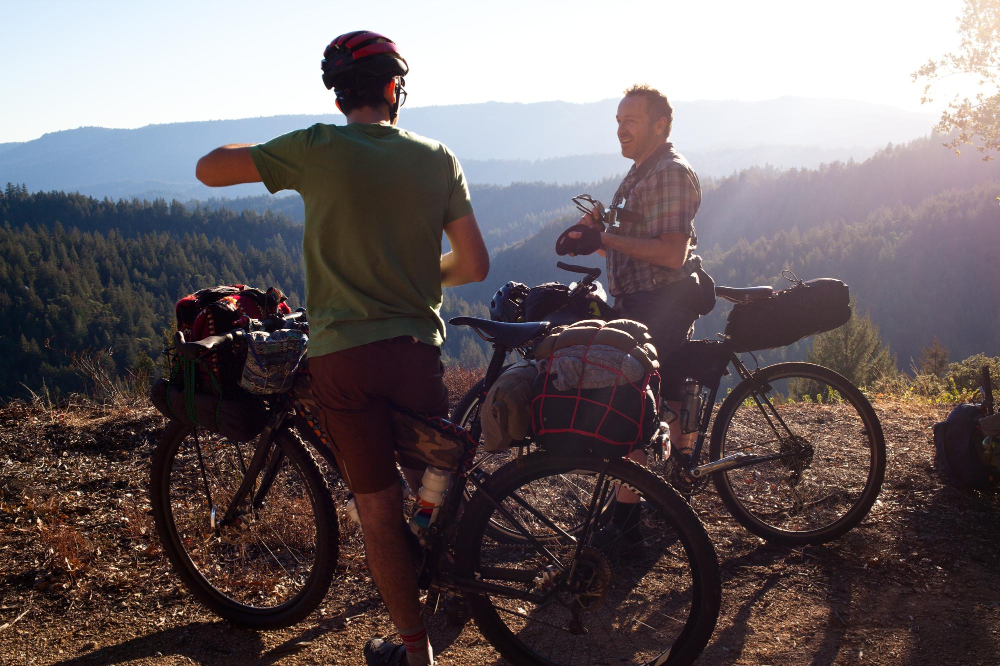 Bikepacking with BMXers on Cross Bikes in the Santa Cruz Mountains