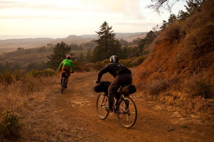 Bikepacking with BMXers on Cross Bikes in the Santa Cruz Mountains – Brian Barnhart