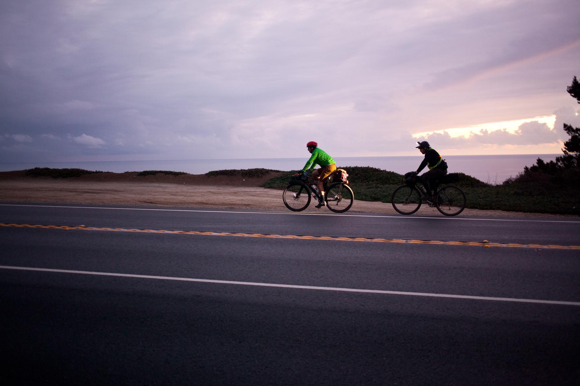 Bikepacking with BMXers on Cross Bikes in the Santa Cruz Mountains