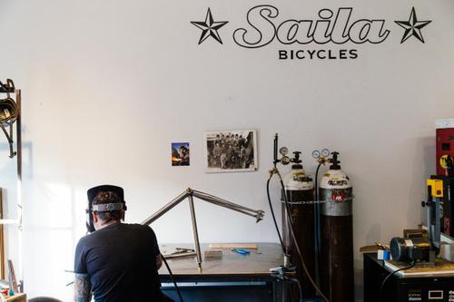 Lauren Trout is Saila Bicycles