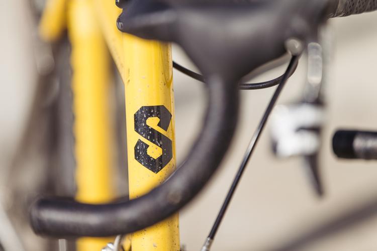 Shawn's Titanium Serotta Concours Cross Bike