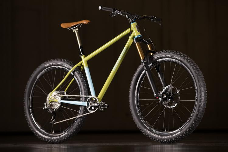 2016 NAHBS: Breadwinner Goodwater 27.5+ Hardtail