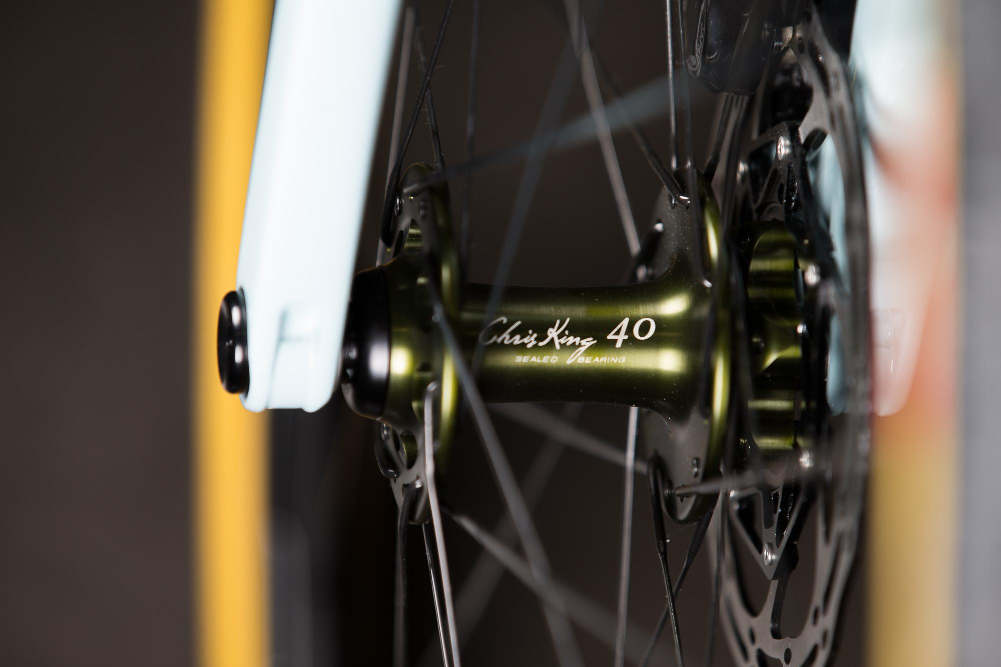 2016 NAHBS: Cielo Base Racer with Chris King 40th