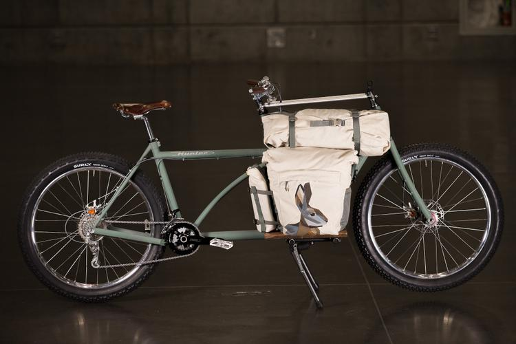 2016 NAHBS: Hunter Cycles Cargo Bike with Randi Jo Bags