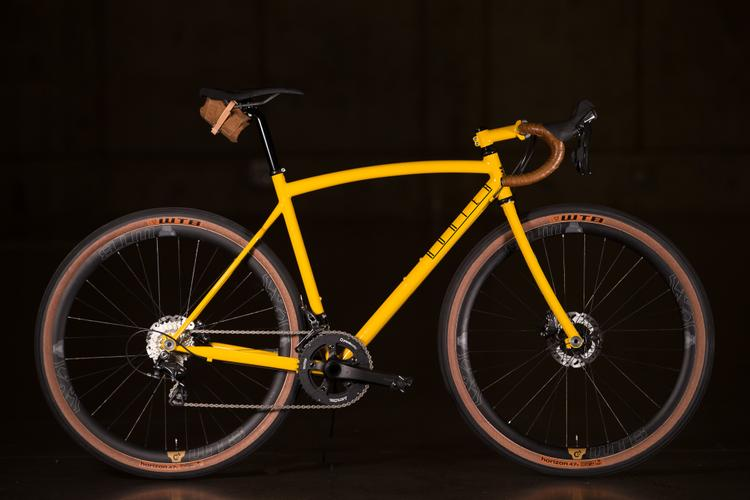 2016 NAHBS: Hunter Disc All Road with WTB Road Plus Wheels