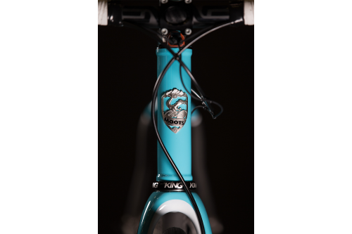2016 NAHBS: Moots Routt with Black Magic Paint