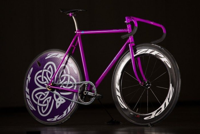 2016 NAHBS: Shamrock Cycles Track