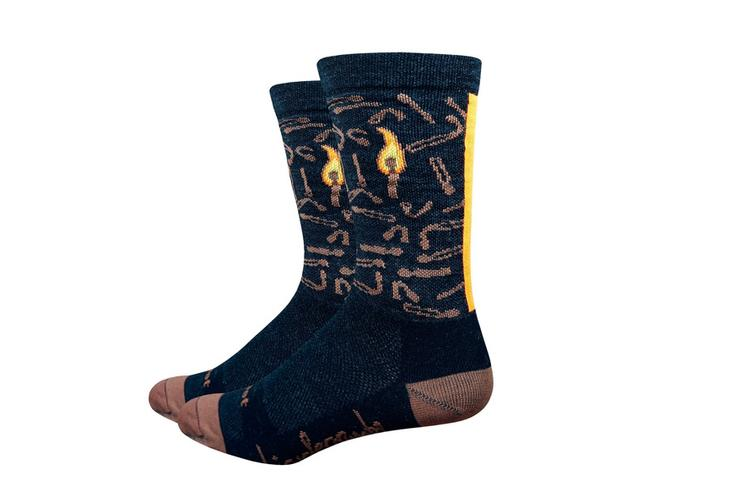 Bicycle Crumbs Designed Three Socks for DeFeet