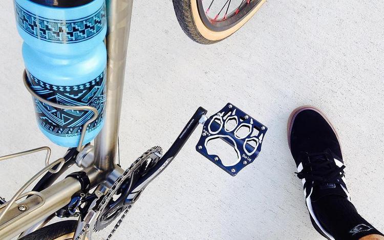 Blue Lug Panda Pedals