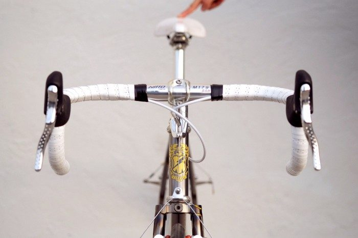 Golden Saddle Rides: Cinelli White Collar Work Bike