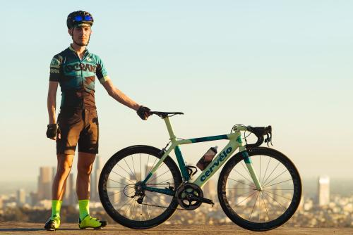 Eric and His Ocean Cervelo S2 Road