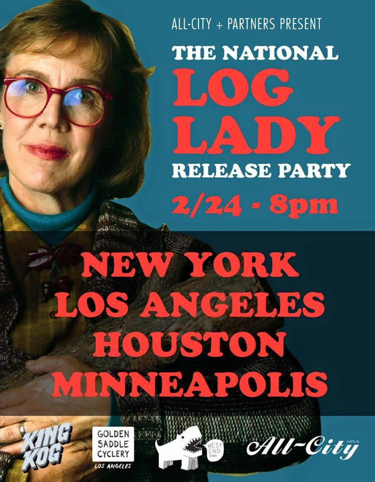 All-City Cycles Log Lady Release Party