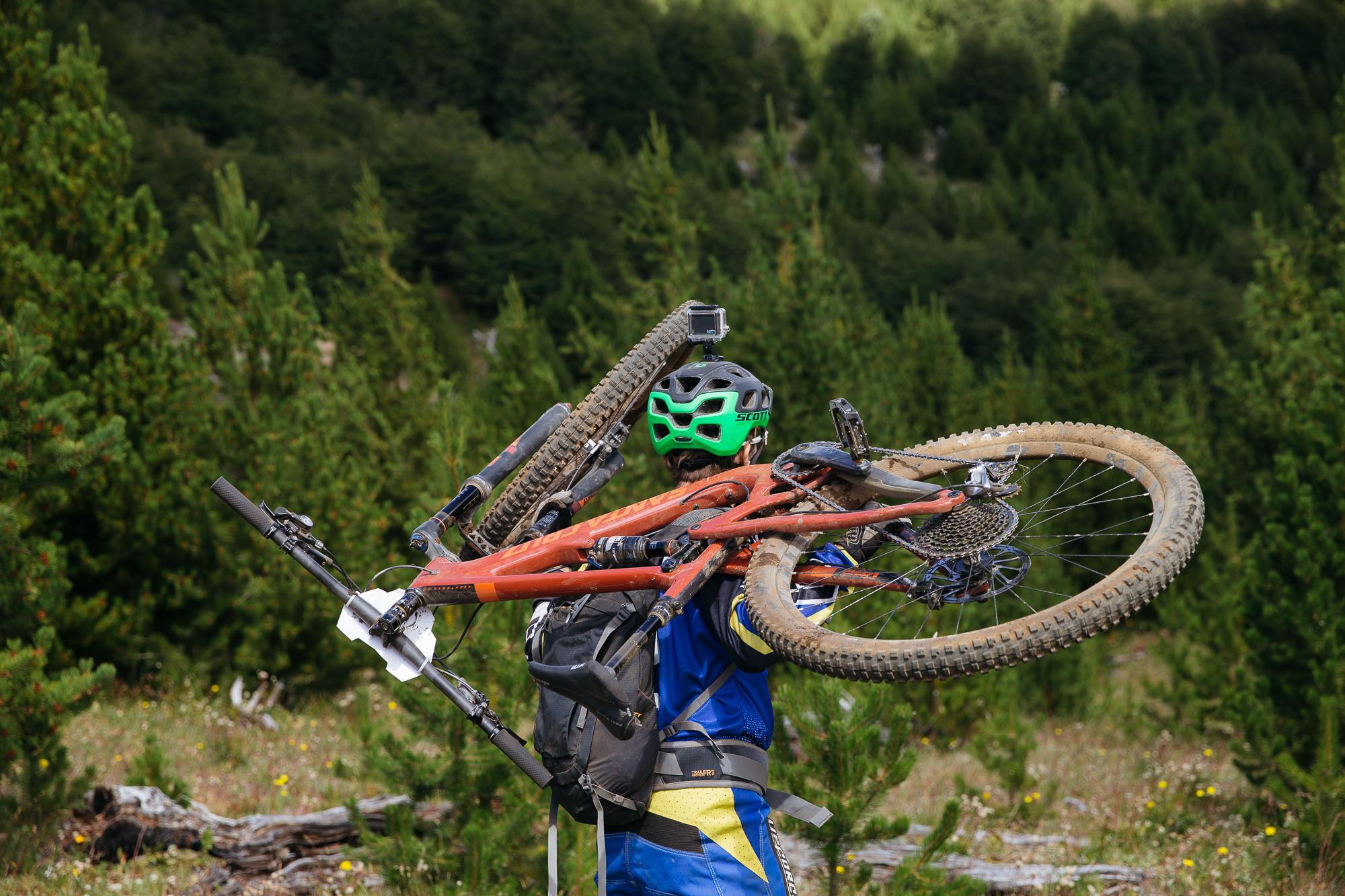 ... and more hike-a-bike