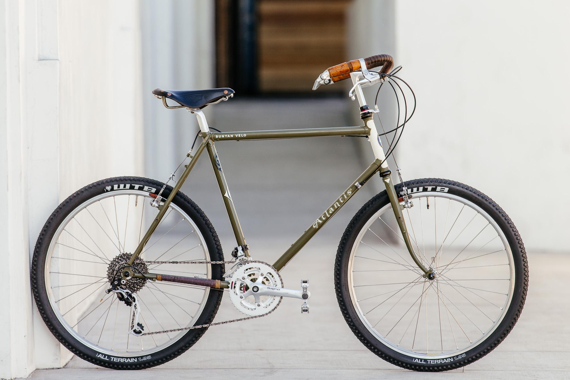 Hugh's Rivendell Atlantis Touring Bike