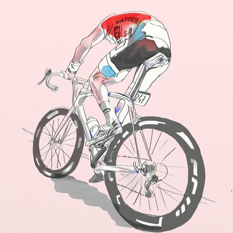 I'm Loving the Team NYC Velo Illustrations