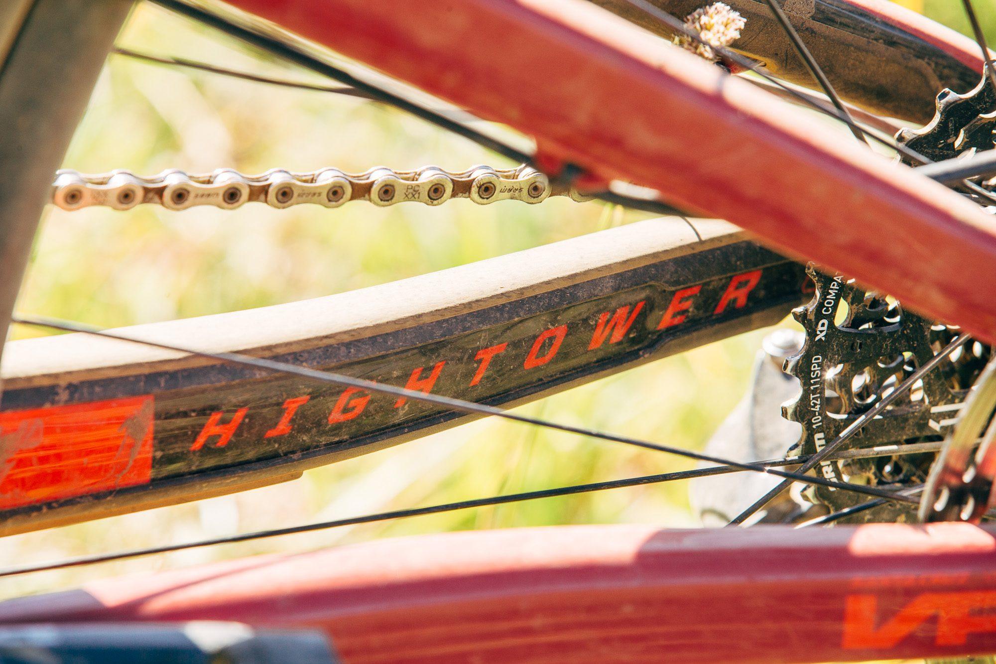 The Santa Cruz Bicycles Hightower with 29'r Wheels