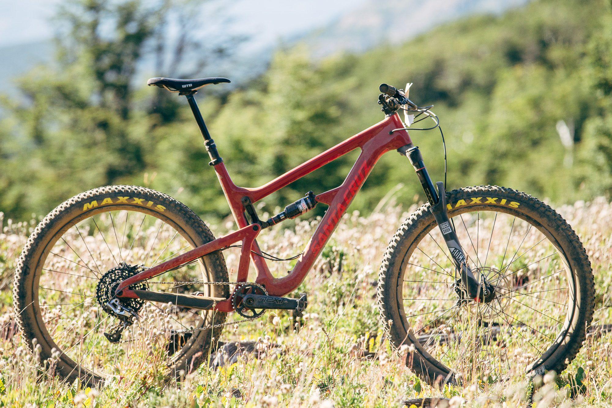 The Santa Cruz Bicycles Hightower with 27.5+ Wheels