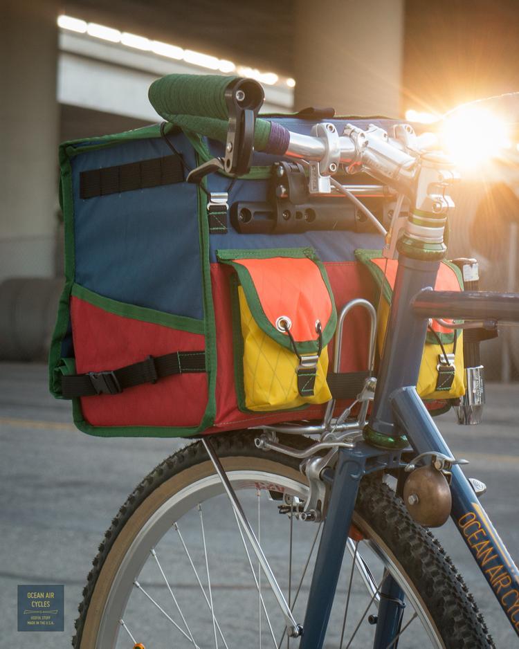 Ocean Air Cycles and Swift Industries Docena Rando Bag Pre-Order