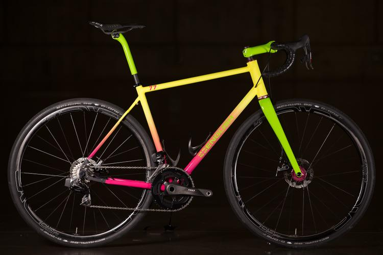 2016 NAHBS: English Ombré Road with SRAM Red eTap Re-Up