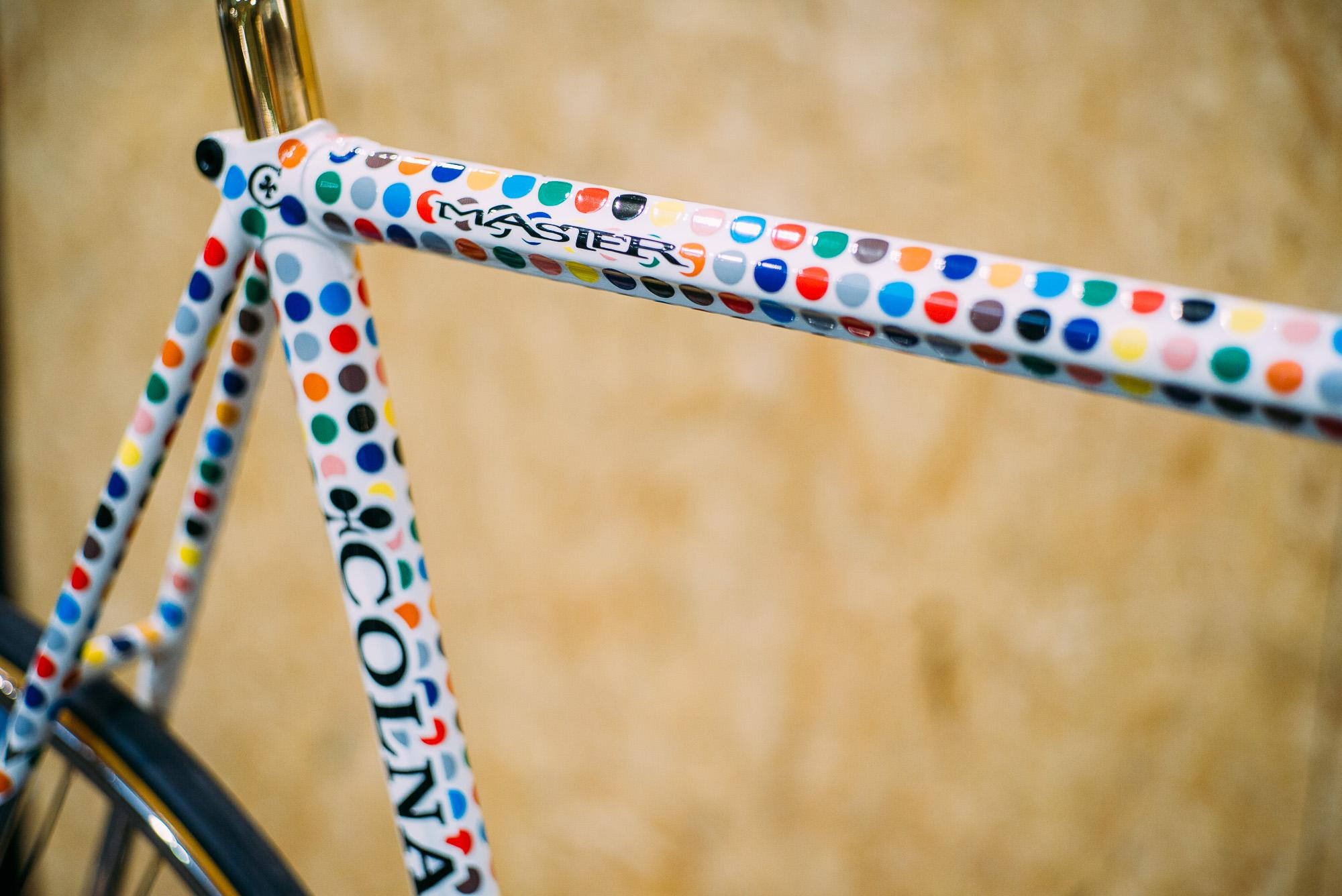 Futura Colnago with gold plated Campagnolo.