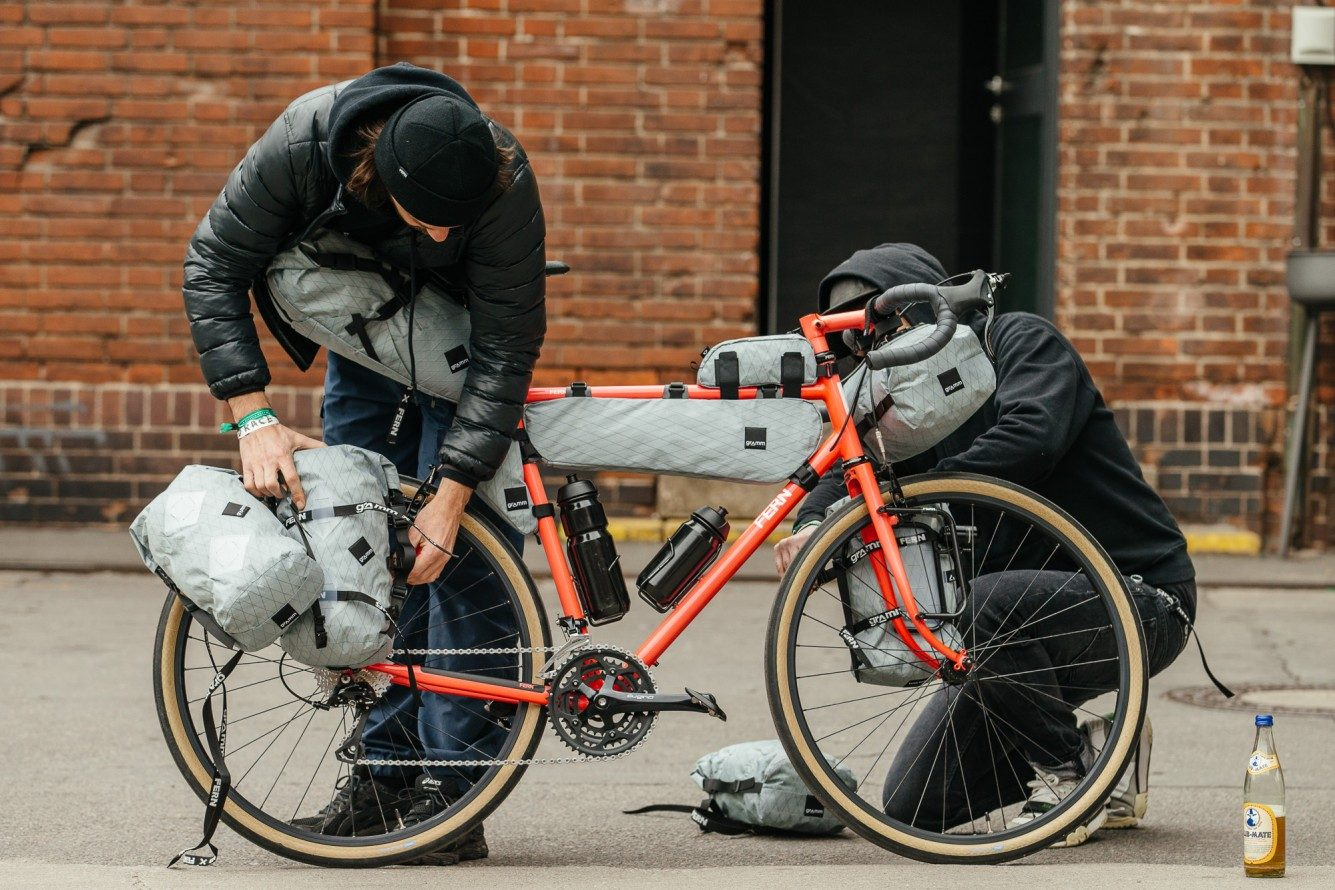 Touring Bike Handlebar Setup