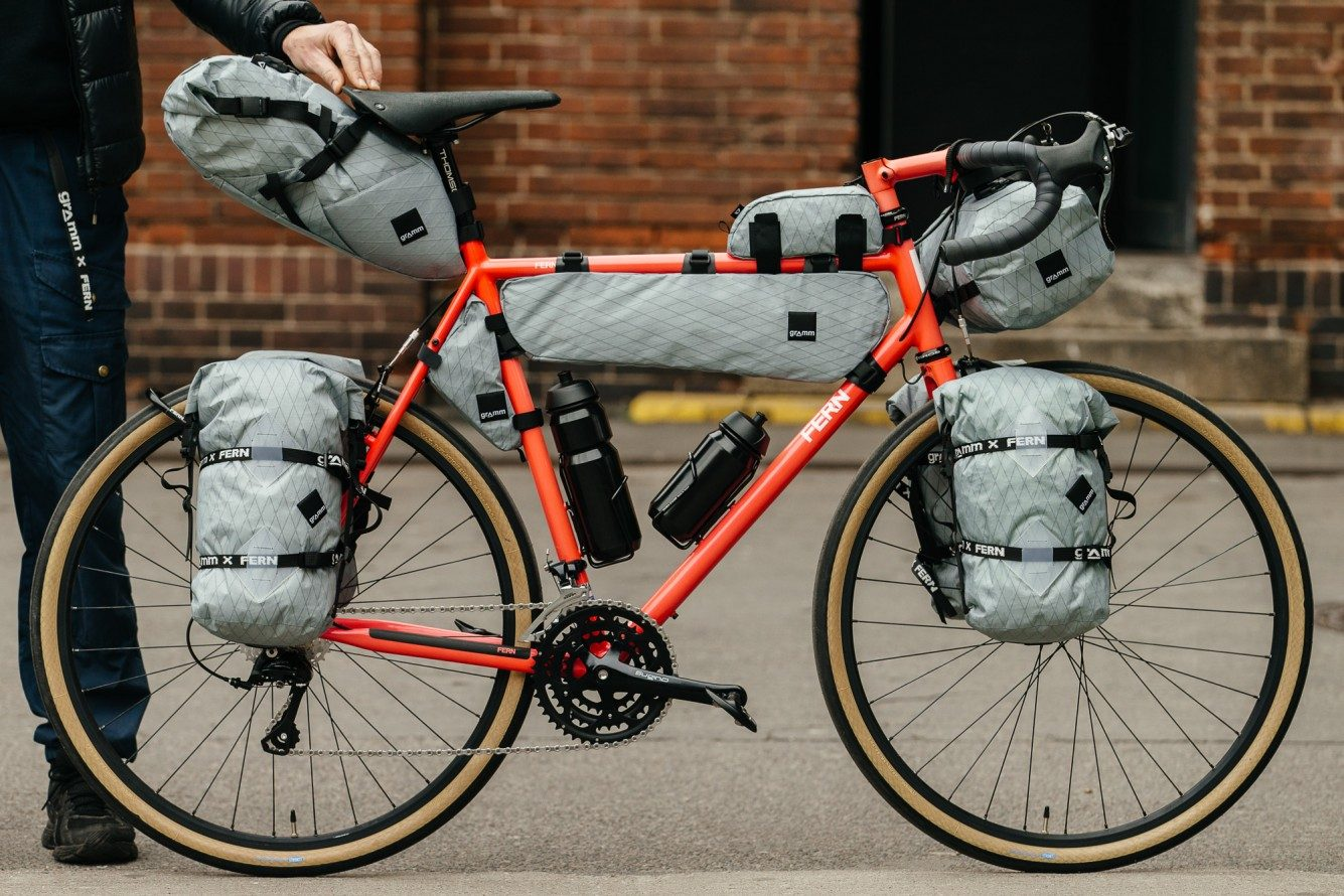 Frame Bag Bike Touring