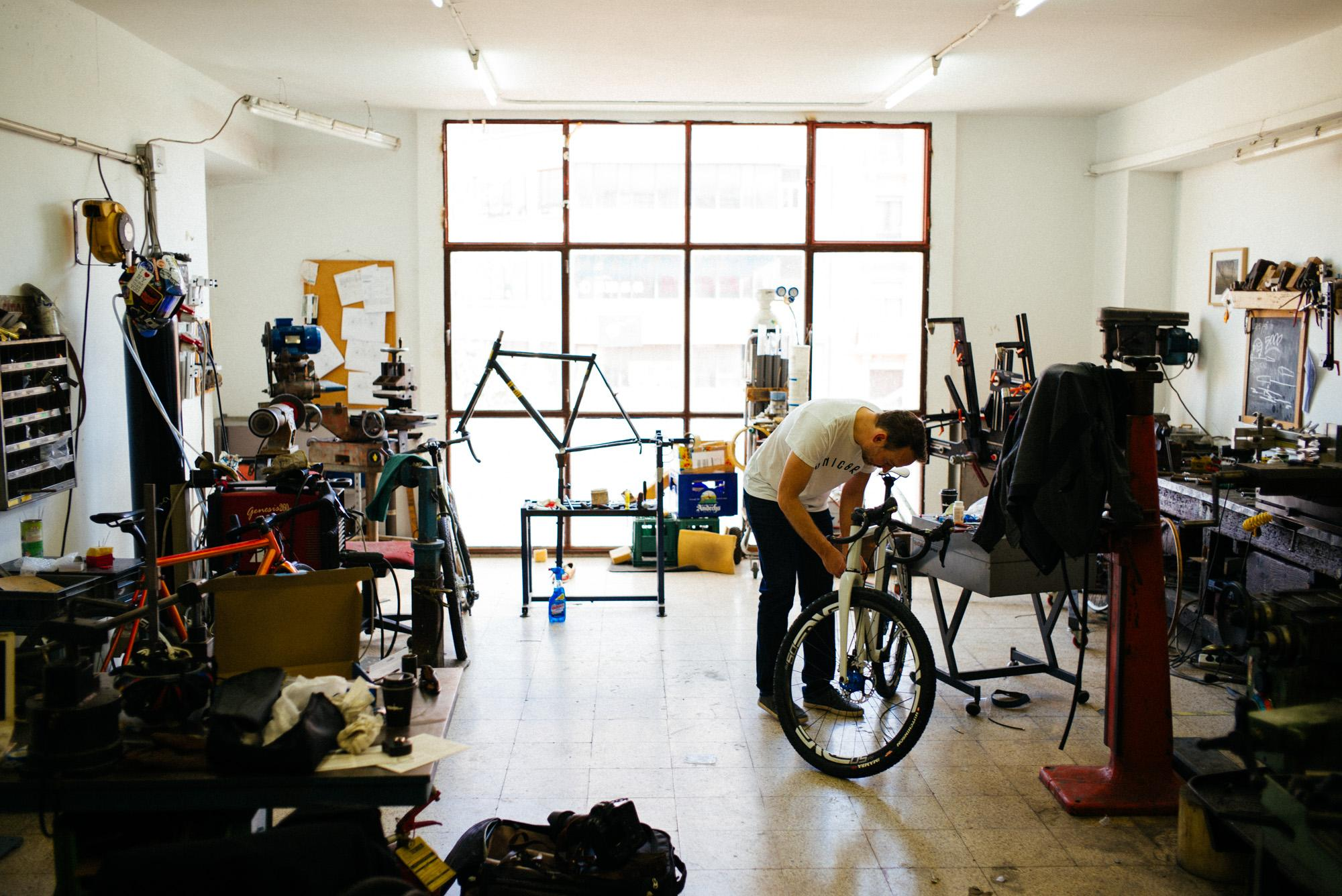It's bike building day...