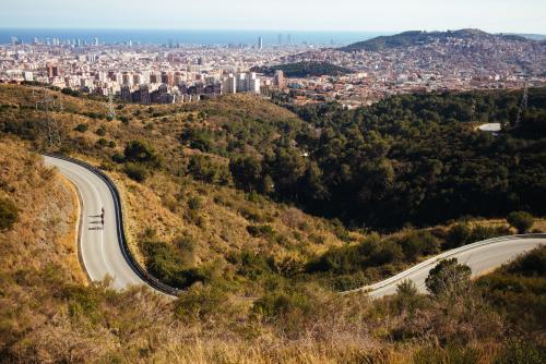 Road climb