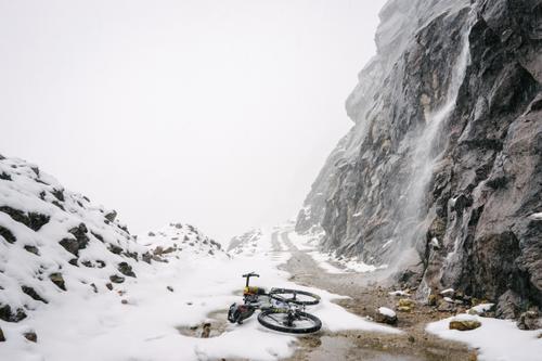 The endless roadside waterfalls