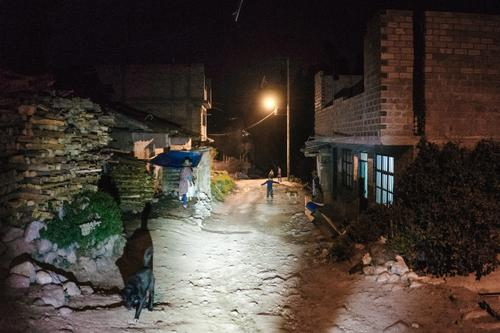 Night life in the foothills of the Andes