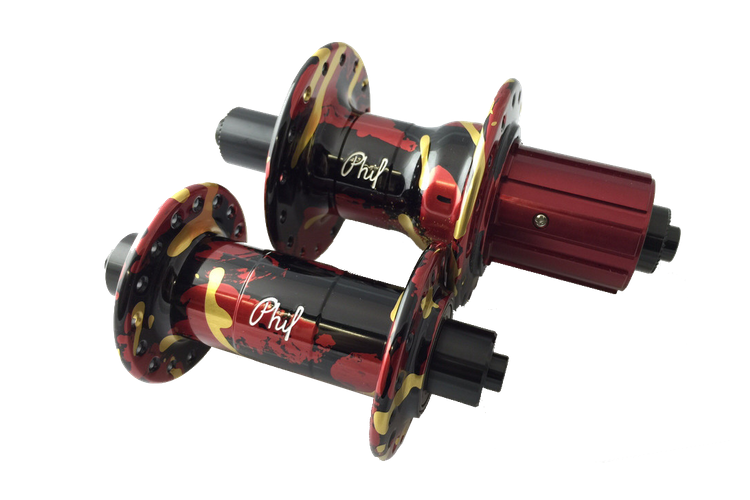 Phil Wood 45th Anniversary Hubs