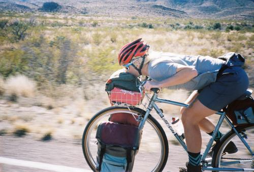 Big Bend Bike Camping