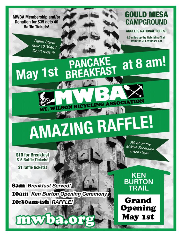 MWBA Pancake Breakfast this Sunday!