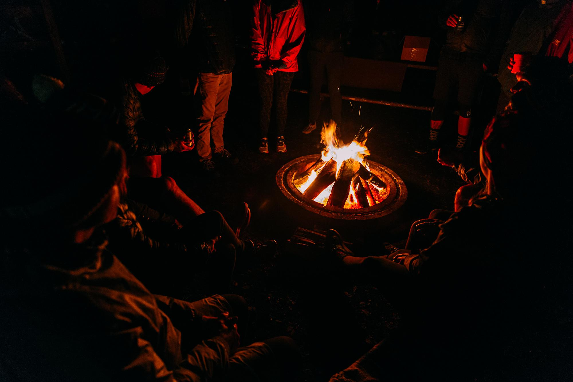 Camp fires, bourbon and tall tales.
